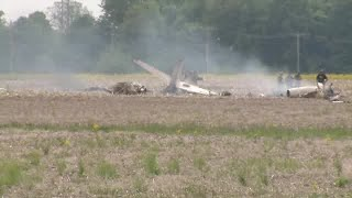 2 dead after plane crash near Indianapolis Regional Airport