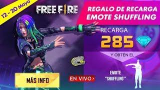 🔴 Ya Disponible el *EMOTE SHUFFLING* Recargando desde el Juego - FREE FIRE