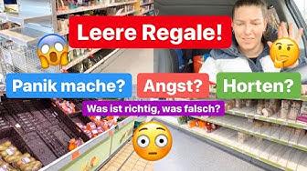Leere Regale in Supermärkten und Drogerien l Fitness l Vlog 1050