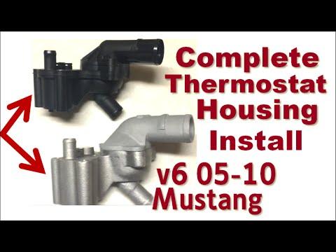 bad water pump ford mustang gt 4 6 2007 funnycat tv. Black Bedroom Furniture Sets. Home Design Ideas