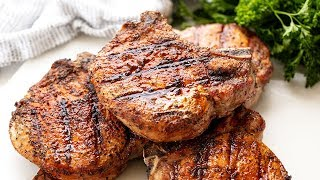 How to Make Perfect Grilled Pork Chops  The Stay At Home Chef