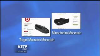Minnetonka Moccasin Sues Target Over Design