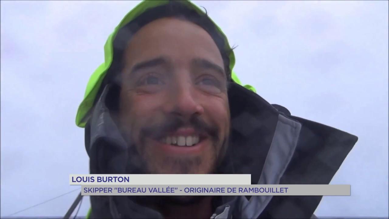 Vendée Globe 2016 : Louis Burton entre terre et mer