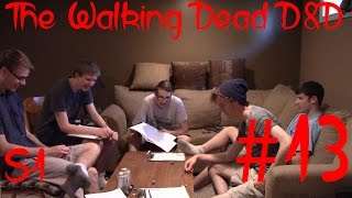 The Walking Dead D&D Part 13: Campfire Attack