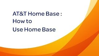 Video AT&T Home Base : Use AT&T Home Base download MP3, 3GP, MP4, WEBM, AVI, FLV Desember 2017