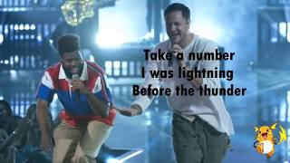 Imagine Dragons , Khalid- Thunder / Young Dumb & Broke(Medley) Lyrics Video