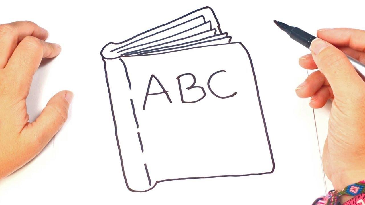 como dibujar un libro para nios dibujo de libro paso a paso