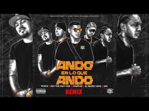 Ponce - Ando En Lo Que Ando Remex - Roy The Only One X Ian X Complex X El Negro Yan