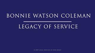 Congresswoman bonnie watson coleman - a ...