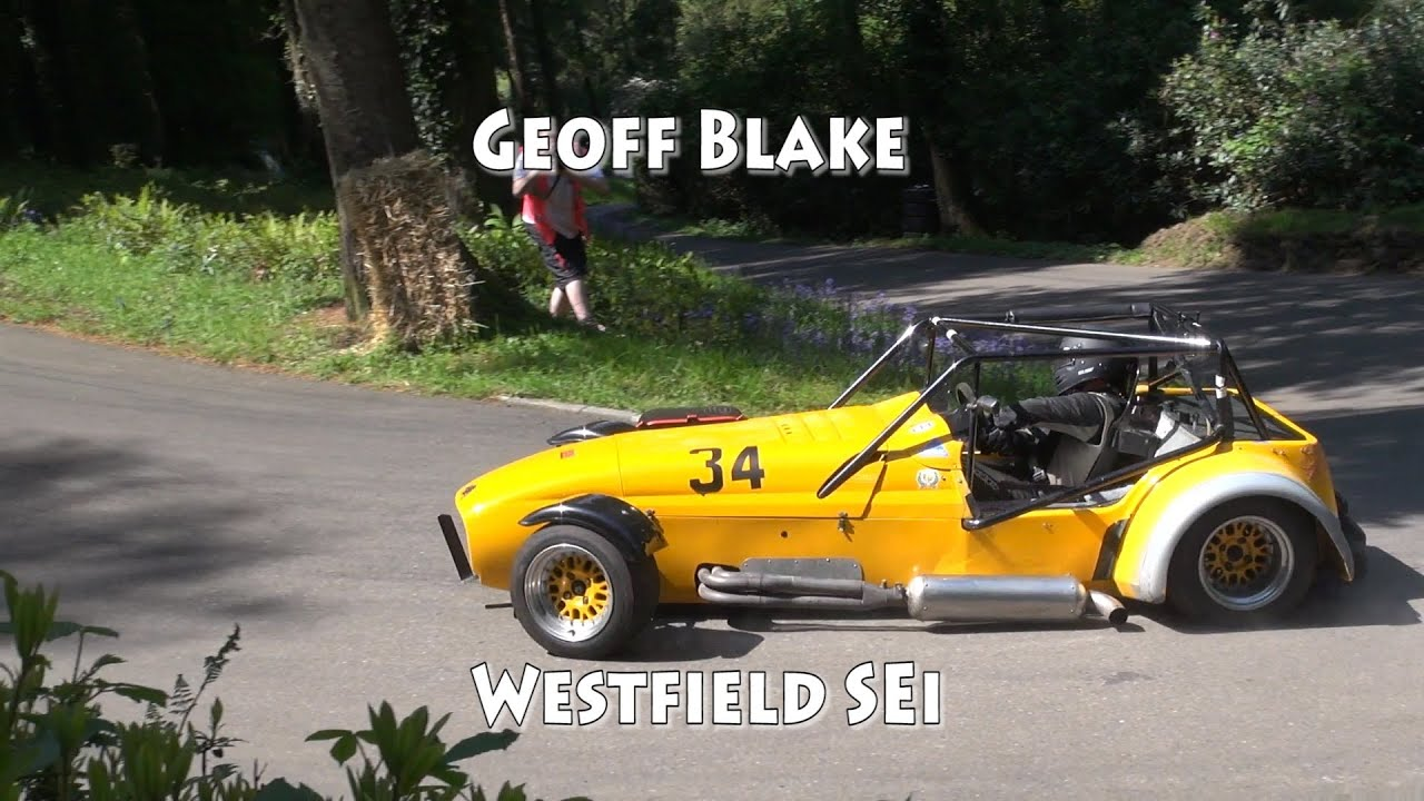 Westfield SEiW At Wiscombe Park Speed Hillclimb May 2014 Geoff Blake