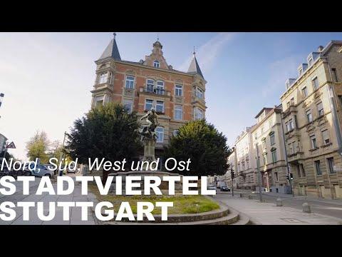 Stadtviertel Stuttgart