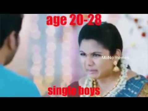 Valentine's Day special for single boy's   video meme  tamil memes