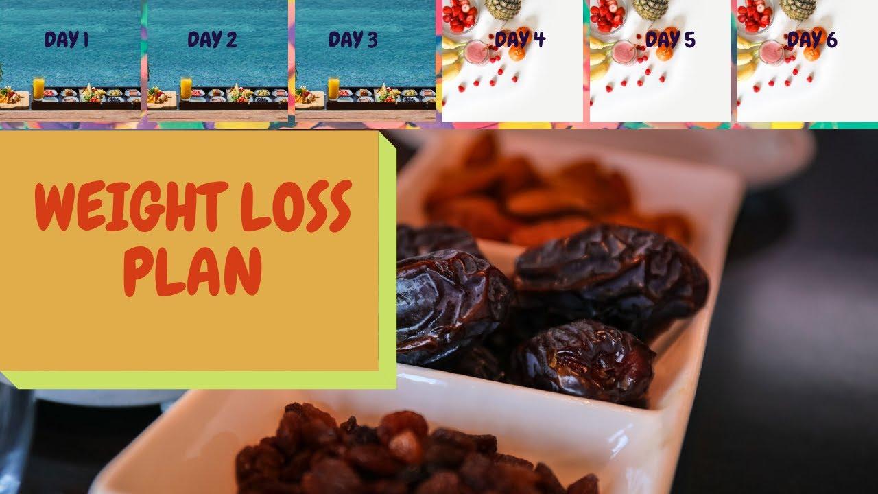 Weight loss diet chart (Ramadan special)