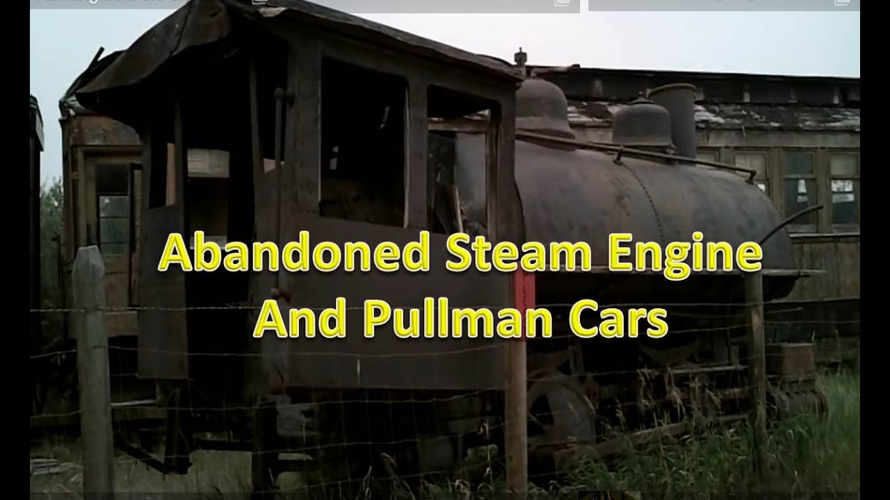 Abandoned Steam Train and Puman Cars - YouTube