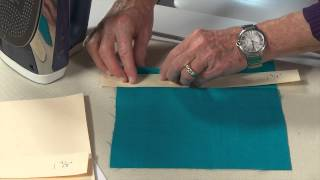 How To Sew Perfect Hems Using Tagboard Templates with Craftsy Instructor Linda Lee