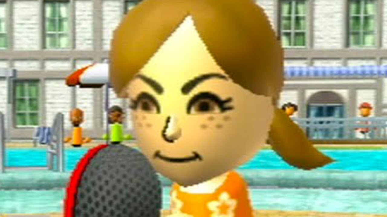 Lucia è Invincibile a Ping Pong su Wii Sports Resort