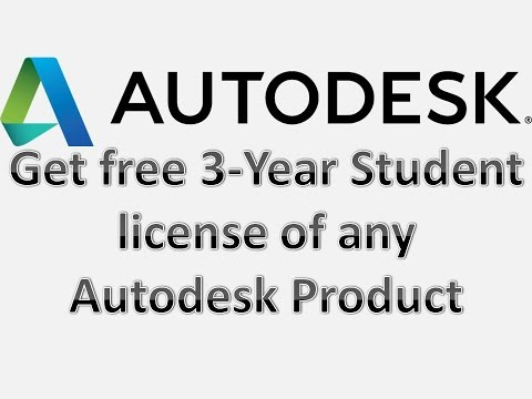 How to get free 3-Year Student License of any Autodesk Product Legally - No Need of Crack