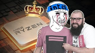 AMD WINS?? Ryzen 3600 vs I7 8700