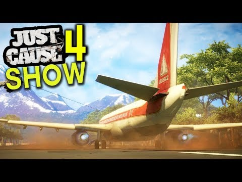 JUST CAUSE 4 - NEW AIRPORTS THAT FUNCTION & 250+ MISSIONS? & MORE! (Just Cause 4 Show EP 12)
