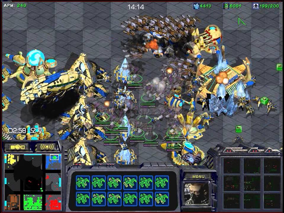 스타크래프트 섬빨무 3:3 팀플 테란 온리 레이스뽑기 (starcraft