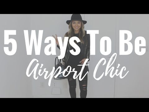 What to Wear When you Travel | How to Fly in Style | Airport Chic