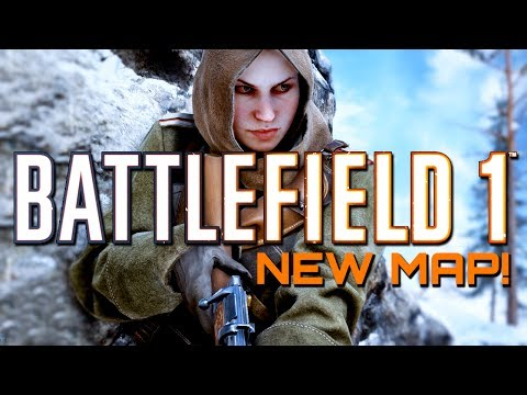 Battlefield 1: New Map Lupkow Pass Gameplay -  In The Name of the Tsar DLC