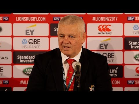 Press Conference: Gatland thrilled Lions passed tough test in opener | Lions NZ 2017