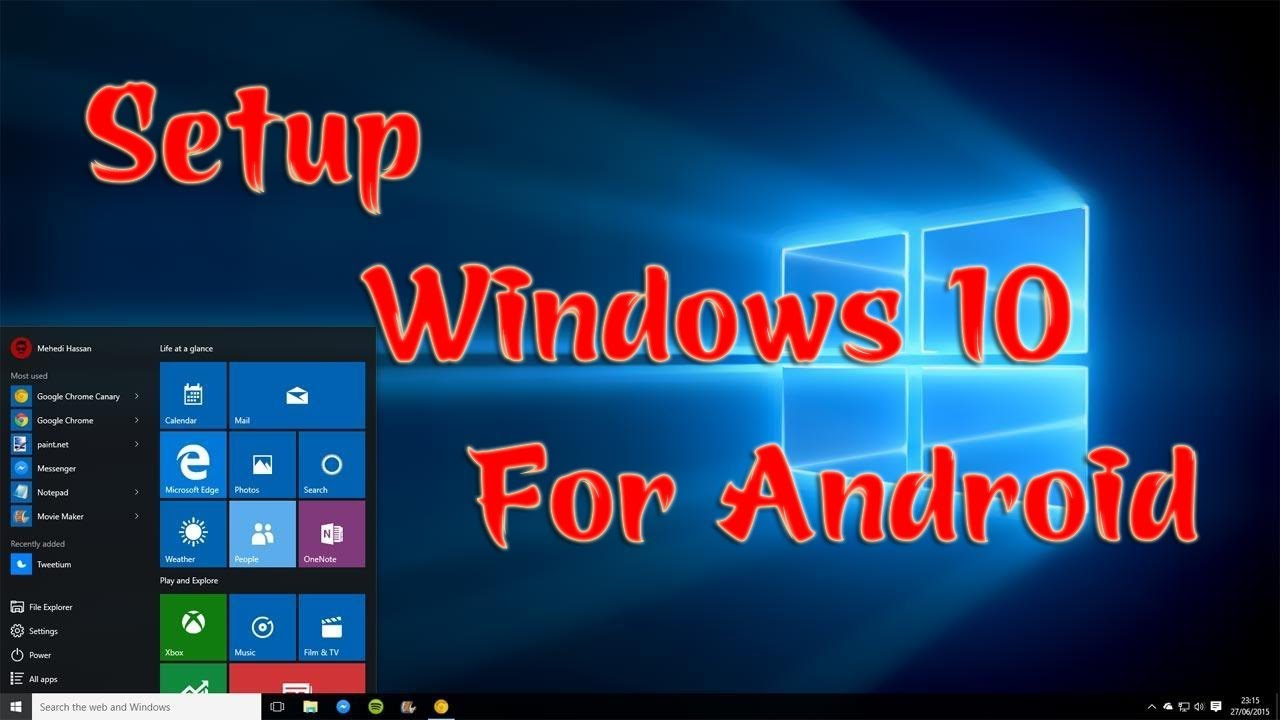 Cài Theme Windows 10 cho điện thoại Android 2019 | Setup Laucher Windows 10 for Android | Góc IT