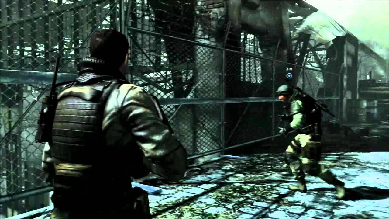 Resident Evil 6 Public Demo Ps3 Chris Campaign Piers Nivans Co