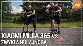 """Xiaomi MiJia 365 - vs """"zwykła"""" elektryczna hulajnoga"""