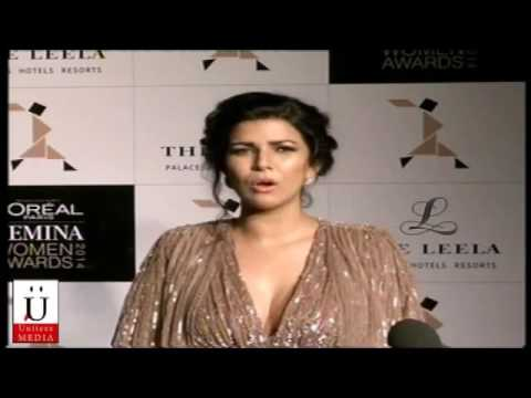 Gorgeous Nimrat Kaur At Lo'real Paris Femina Awards