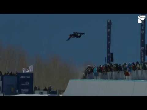 Scotty James wins Halfpipe Semifinals Burton US Open 2017