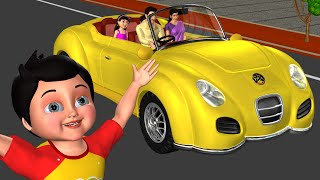Download Driving in My Car Song | We Are Going in Our Car - 3D Nursery Rhymes & Songs for Children Mp3 and Videos