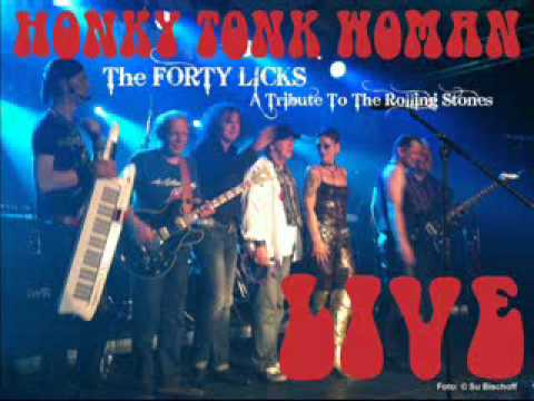 The FORTY LICKS ::: Honky Tonk Woman ::: LIVE 2003