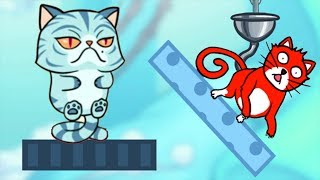 Hello Cats - Help The Cat Drink Water - Gameplay Walkthrough PART 5 Level 151 - 180