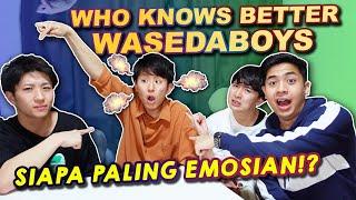 Download lagu SIAPA YANG PALING MALES MANDI!? WHO KNOWS BETTER WASEDABOYS PART 2