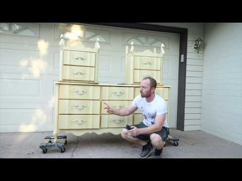 painting-a-bedroom-set- -do-it-yourself-home-project