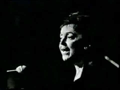 """Edith Piaf sings """"Milord"""""""