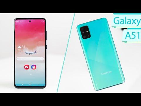 SAMSUNG GALAXY A51 Review: 4 Camera, Màn Hình Như Galaxy Note 10!
