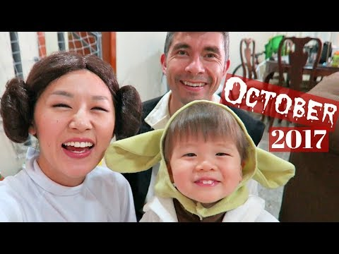 October 2017 Vlog! +Corumba Waterfall, Halloween!