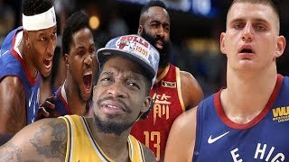 HMM HARDEN MVP OVER LEBRON!? NUGGETS STILL TRASH! ROCKETS vs NUGGETS