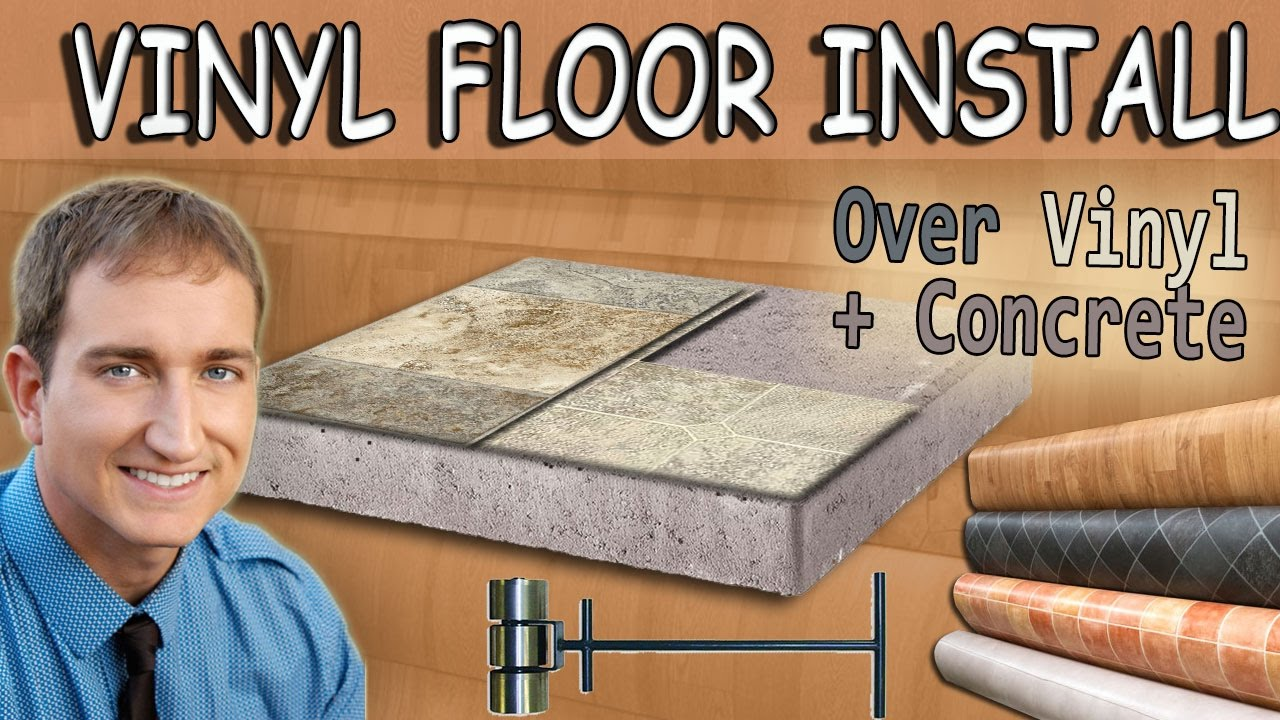How To Install Vinyl Sheet Flooring Over Existing Vinyl