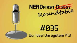 Our Ideal Computer Science Course Pt3 - NERDfirst Roundtable 035