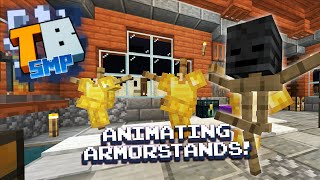 Dancing Armorstands! - Truly Bedrock season1 #39 - Bedrock Edition Youtube Server