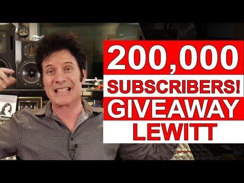 200K Subscribers Giveaway (Lewitt DTP Beat Kit Pro 7) - Warren Huart: Produce Like A Pro