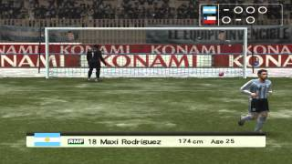 Argentina vs Chile Penalty Kicks Pro Evolution Soccer 6