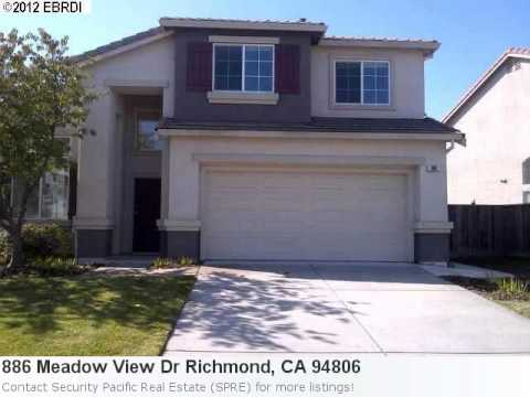 Real Estate In Richmond, Ca- 886 Meadow View Dr Is A Pretty