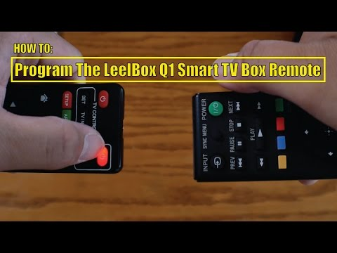 How To: Program The LeelBox Q1 Smart TV Box Remote