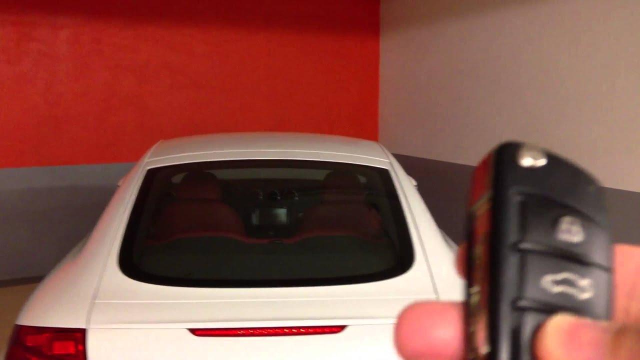 Audi TT MK2 Auto Folding Mirrors Door Lock