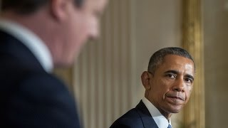 Obama and Cameron Show United Front on Terror Threats